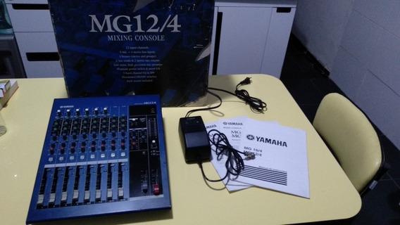 Mesa De Som Yamaha Mg12/4 - Excelente Estado