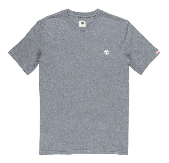 Remera M/c Element New Krammer Tee Gris Hombre -meremkra