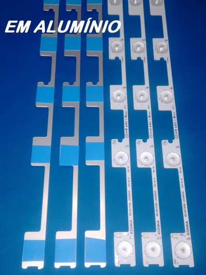 Barras De Led Tv Semp Dl4844(a)f Kit C/6 Kdl48jt618a