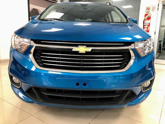 Chevrolet Spin 1.8 Lt 5as 105cv - Tasa 0% Y Cuotas Fijas