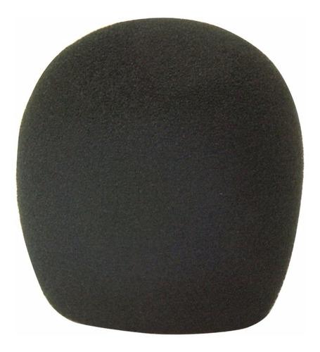 Filtro Anti Pop Stagg Rompeviento Capuchon Microfono Negro