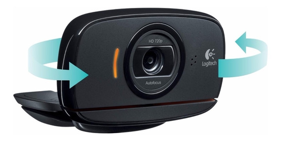 Webcam Camera Logitech C525 720p 360º Dobravel Notebook