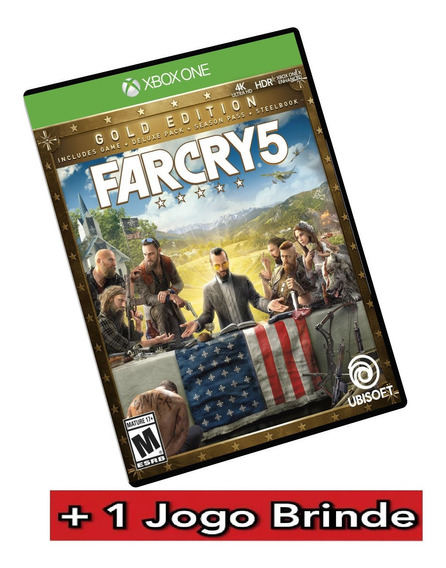 Far Cry 5 Gold Edition Xbox One Midia Digital + Brinde