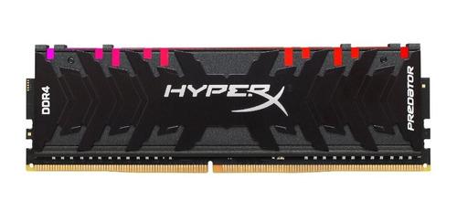Memoria Ram Hyperx 8gb 2933mhz Ddr4 Dimm Rgb Predator