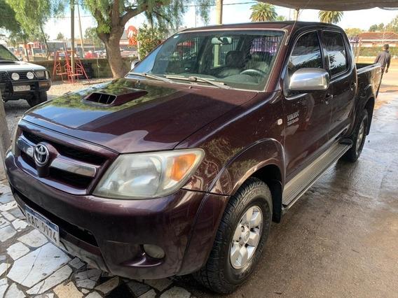Toyota Hilux 3.0 Tdi Srv Cab Doble 4x2 Cuero 2008