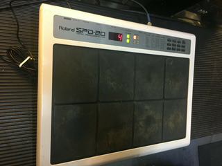 Roland Spd 20 Percussion Pad With Ca Adapter Armens