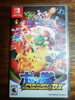 Pokemon Pokkén Tournament Dx Usado Para Nintendo Switch