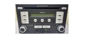 Rádio Mp3/wma Player Usb Aux-in Bora Golf Original Vw Tech