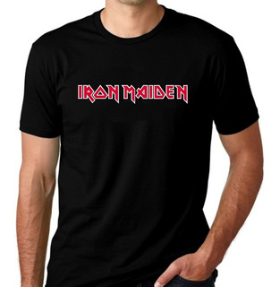 Camiseta Camisa Rock 2019 Iron Maiden Algodão