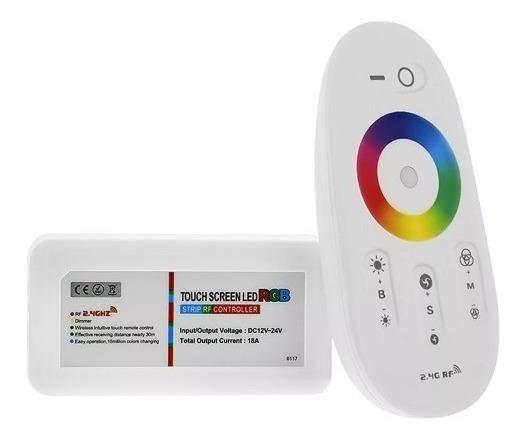 Controlador Touch Rgb 18a Profesional Piscinas Tiras Placas