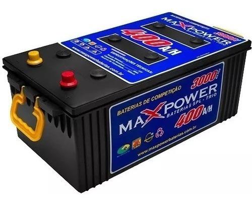 Bateria Max Power 400ah Alto Desempenho Maxpower