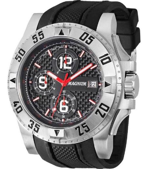 Relógio Masculino Magnum Cronografo Ma34361t Garantia 2 Anos