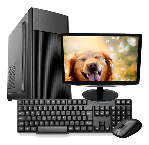 Imagem 1 de 6 de Computador Pc Completo Intel Core I5 4gb Hd 500 Monitor
