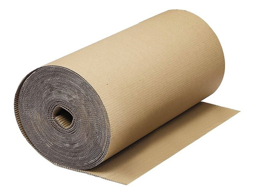 Carton Corrugado Reforzado Varios Usos 1mt X 25mt Pintumm