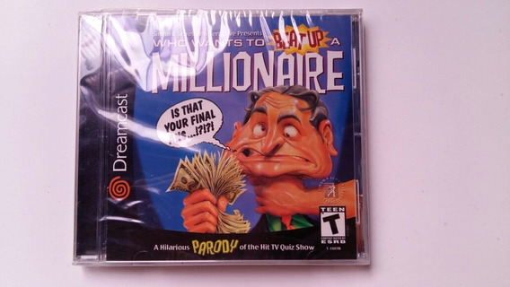 Who Whats To Beat Up A Millionaire Dreamcast Lacrado