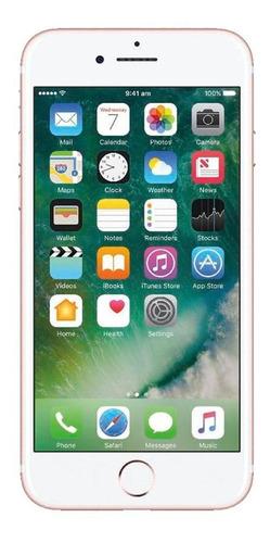 Imagem 1 de 4 de iPhone 7 Plus 32gb Ouro Rosa Excelente - Celular Usado