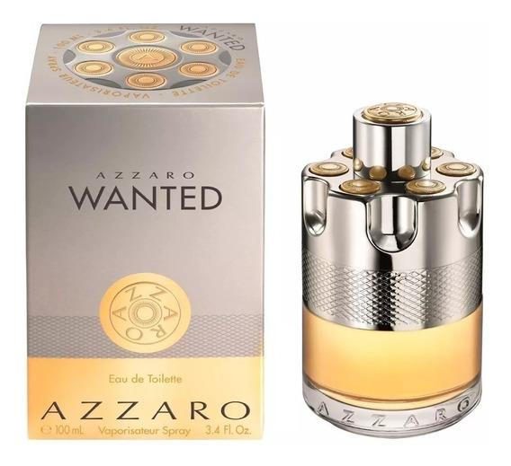 Perfume Azzaro Wanted Edt 100ml Original E Lacrado