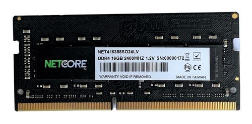 Imagem 1 de 5 de Memória Note Netcore 16gb Ddr4 2400mhz P/ Note Acer Lenovo