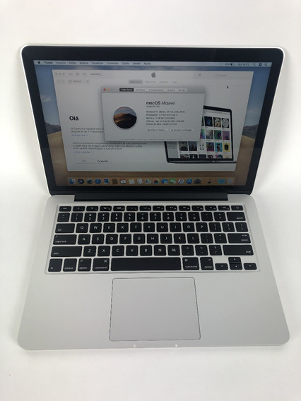 Macbook Pro Apple 2015 Retina I5 8gb 256ssd - Bateria Nova!