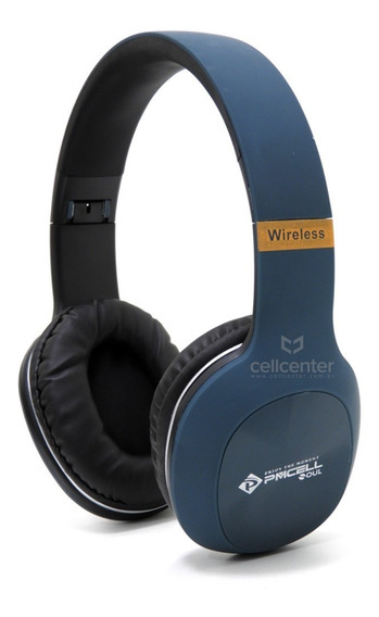 Fone Headphone De Ouvido Bluetooth Stereo P2 Sd Pmcell Hp-43