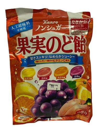 Imagem 1 de 1 de Bala Frutas Kajitsu Nodo Ame Kanro Importado Japão