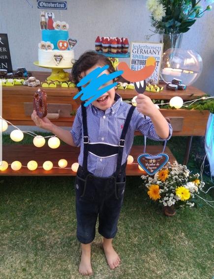 Roupa De Alemão Lederhosen Infantil Original Oktoberfest