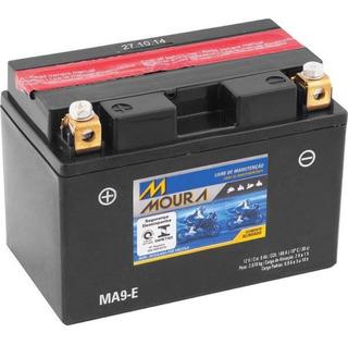 Bateria Moura Ma9-e Dafra Next 250 Nota Fiscal Garantia