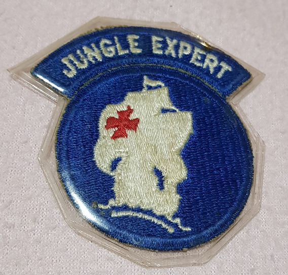 Insignia Jungle Expert (original) Panama 1970