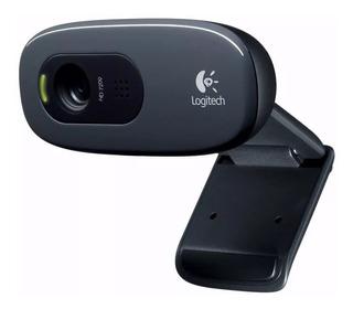 Camara Web Cam Logitech C270 720p Hd Twitch Skype Slot One