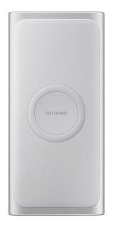 Carregador Portatil Samsung Wireless 10.000 Mah Prata