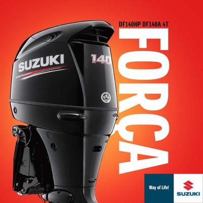 Motor De Popa Suzuki 140 Hp 4 Tempos New 2020!!!