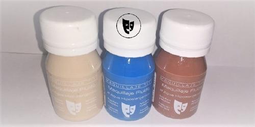 Body Paint Al Agua Maquillaje Titi 30cc - Turquesa