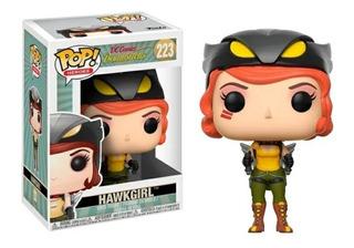 Funko Pop Hawkgirl 223 Dc Comic Bombshells Original