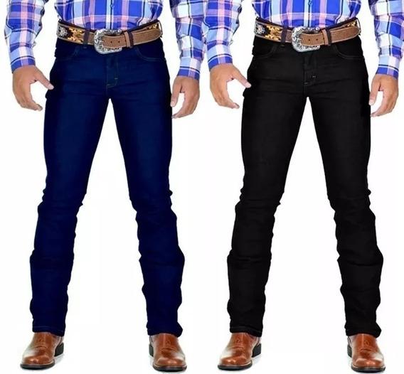 Kit 2 Calça Jeans Masculina Country Lycra Avant Rodeio
