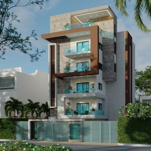 Imagen 1 de 1 de Apartamento Moderno En San Isidro