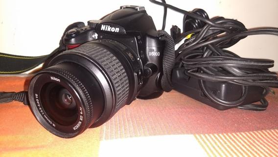 Nikon D5000 Lente 18-55 Acessórios Cartão De Memória 11kclik