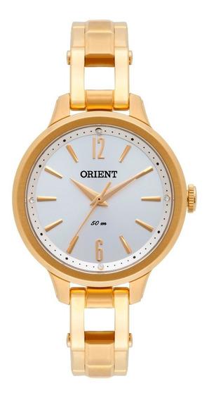 Relógio Orient Original, Feminino, Dourado, Fgss0065 S2kx