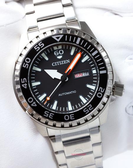 Relógio Citizen Automático Marine Sport Nh8388-81e Pret
