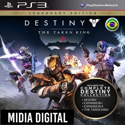 Ps3 Psn* - Destiny The Taken King Edição Lendária