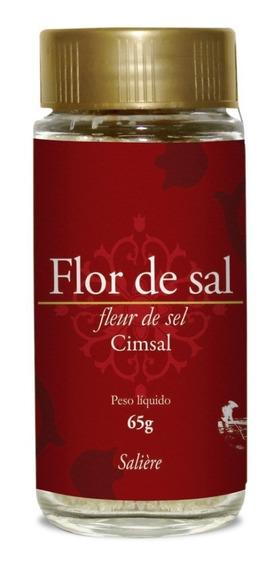 Flor De Sal Natura 65g Gourmet