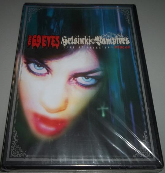 The 69 Eyes (fin) - Dvd Helsinki Vampires (lacrado)