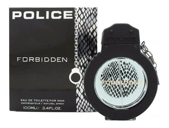 Police Forbidden Eau De Toilette Man 100ml-masculino