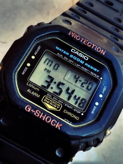 Casio G Shock O + Raro Dw 5200 = 5000 Sensor Diver Wind Surf