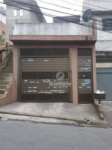 Imagem 1 de 13 de Casa À Venda, 155 M² Por R$ 290.000,00 - Jardim Columbia - Mauá/sp - Ca0124