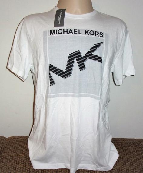 Mk Camiseta Masculina Michael Kors L Nova Original Etiqueta