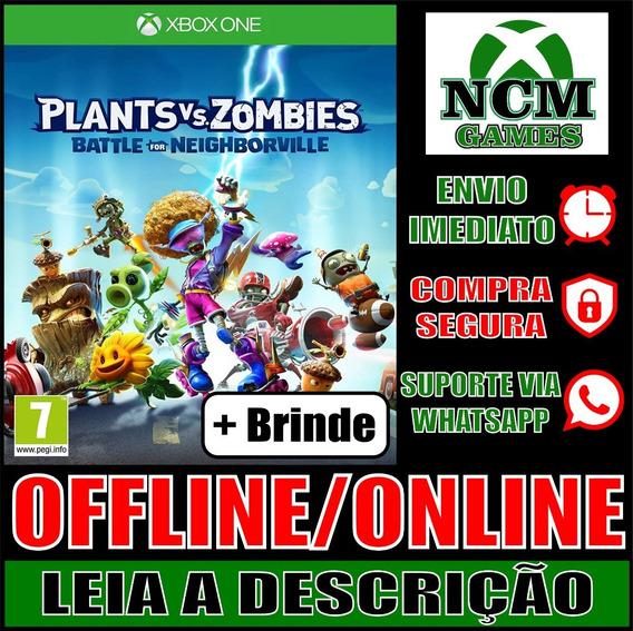 Plants Vs Zombies: B Por N E Founde Xbox One Off/on + Brinde