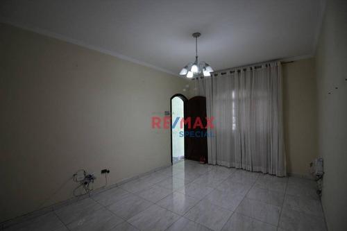 Sobrado Com 3 Dormitórios À Venda, 110 M² Por R$ 540.000,00 - Jardim América - Guarulhos/sp - So0099