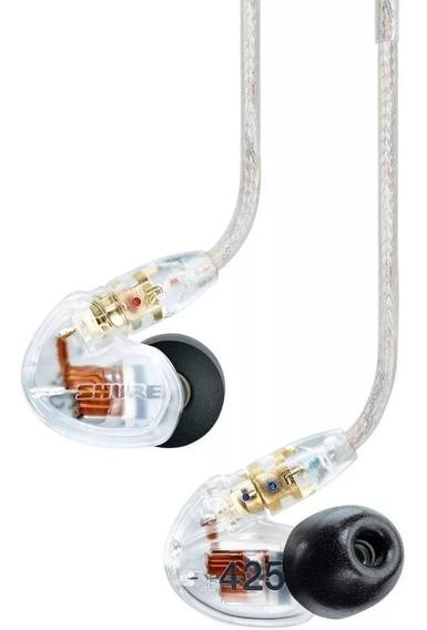 Fone De Ouvido Com Microfone Shure Se425 Original Vitrine