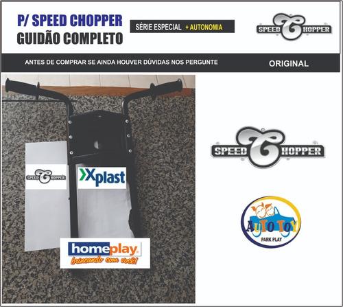 Imagem 1 de 5 de  Speed Chopper  - Só O Guidon Original Completo