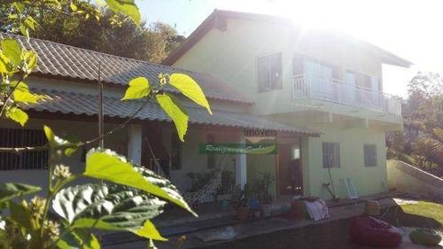 Imagem 1 de 17 de Chácara Com 3 Dormitórios À Venda, 900 M² Por R$ 498.200 - Recento No Céu - Santa Isabel/sp - Ch0450